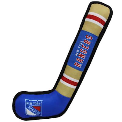 (Hockey Stick Pet Toy - NY Rangers)