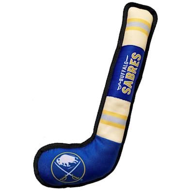 (Hockey Stick Pet Toy - Buffalo Sabres)