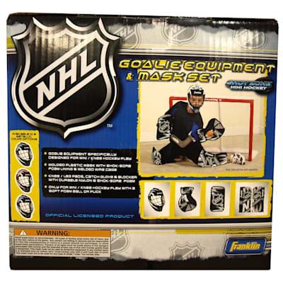 Set (Franklin Shinny Goalie Equipment & Mask Set)