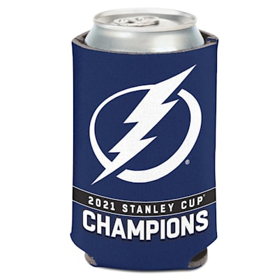 (Wincraft 2021 Stanley Cup Champions Can Cooler - Tampa Bay Lightning)