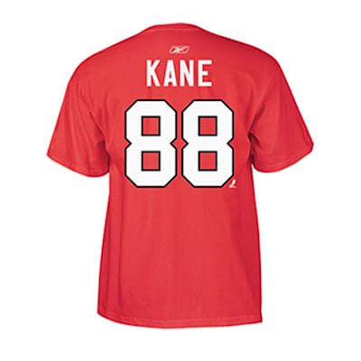 Red back (Reebok Patrick Kane Chicago Blackhawks Premier Replica Tee Shirt - Senior)