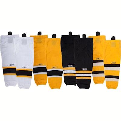 Boston Bruins (Reebok Boston Bruins Edge SX100 Hockey Socks - Senior)