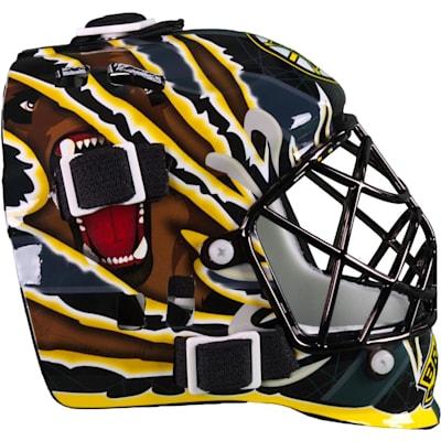 Side View (Franklin NHL Team Mini Goalie Mask)
