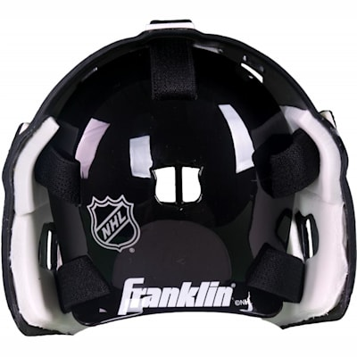 Back View (Franklin NHL Team Mini Goalie Mask)