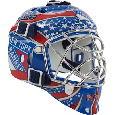 New York Rangers (Franklin NHL Team Mini Goalie Mask)