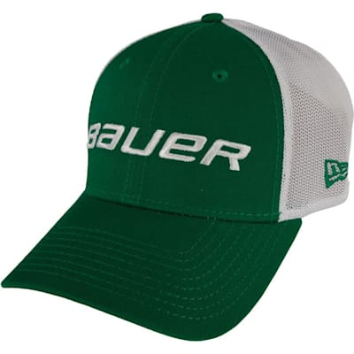 Green (Bauer 39THIRTY Stretch Mesh Fitted Hat - Adult)