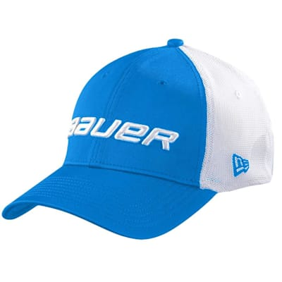 Blue (Bauer 39THIRTY Stretch Mesh Fitted Hat - Adult)