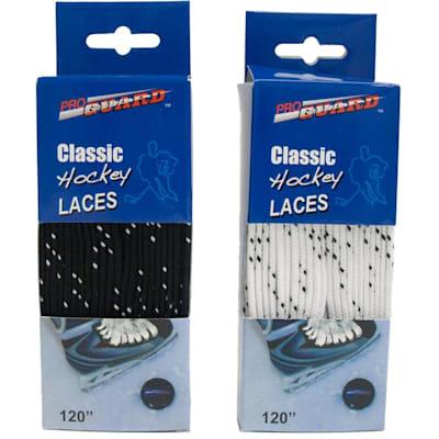 Black & White (Pro Guard Classic Skate Laces Boxed)
