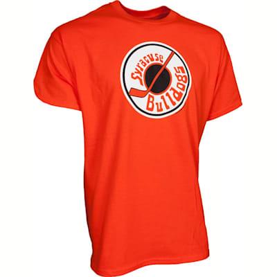 Front View (Mad Brothers Slap Shot Syracuse Bulldogs #2 Ogilthorpe Tee Shirt - Boys)