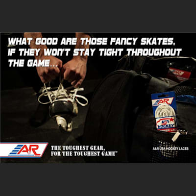 (A&R USA Hockey Classic Laces)