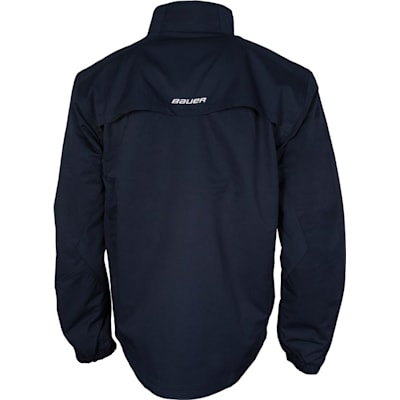 Back (Bauer Lightweight Warm-Up Jacket - Youth)