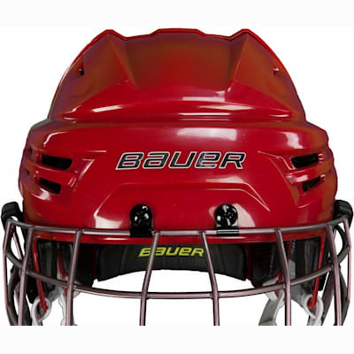 Latest in Comfort, Style, And Protection (Bauer RE-AKT Hockey Helmet Combo)