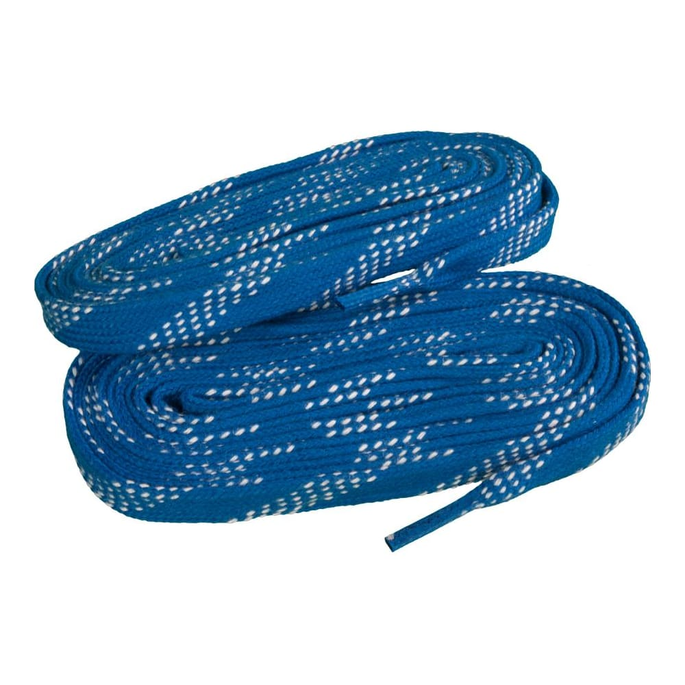 NEW Elite Pro X7 Molded Tip Wide Hockey Laces Navy Columbia
