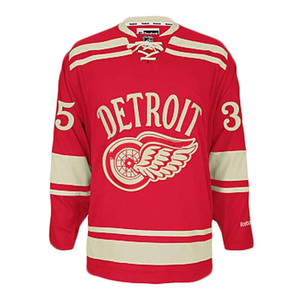 detroit red wings jersey