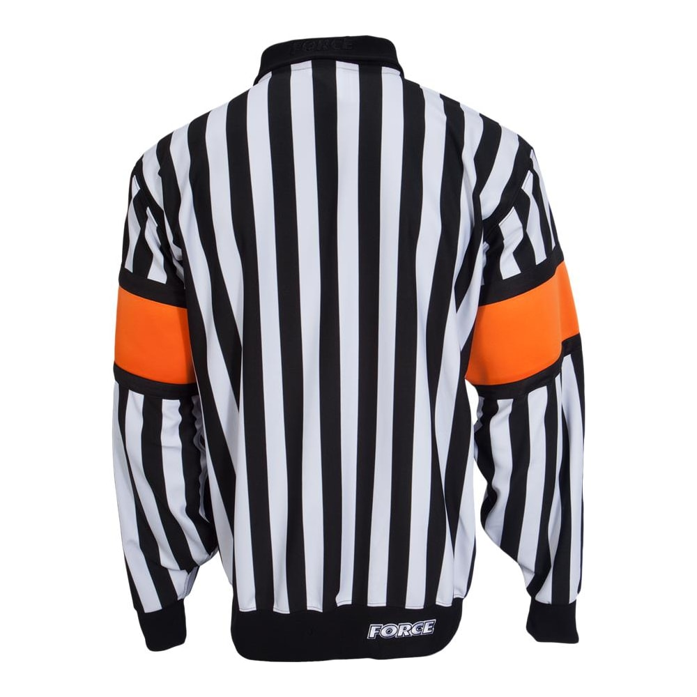 fce5b7d271f Force Pro Referee Jersey w/ Orange Armbands - Mens | Pure Hockey ...