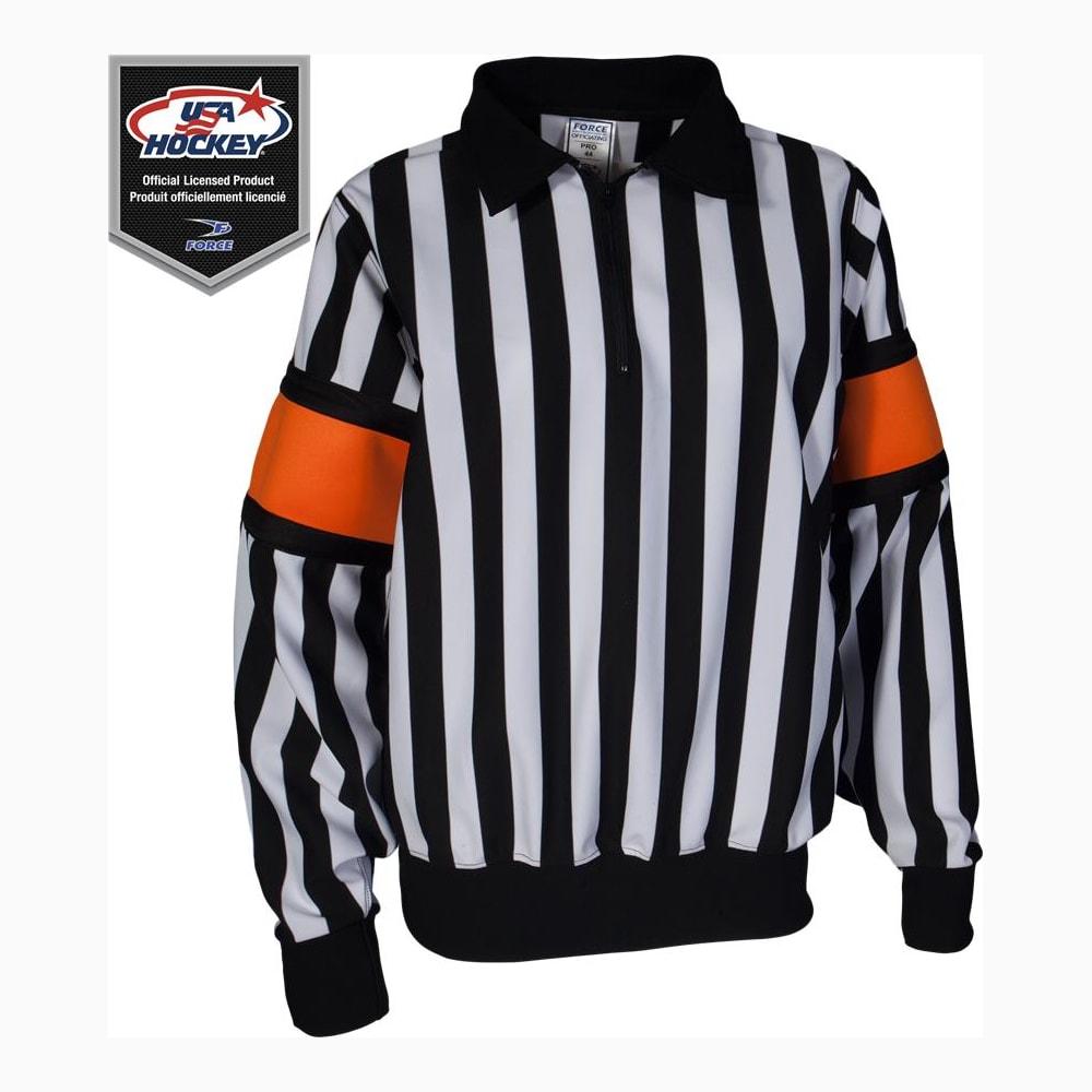 5caf38c93 Pro Referee Jersey w/ Orange Armbands (Force Pro Referee Jersey w/ Orange  Armbands
