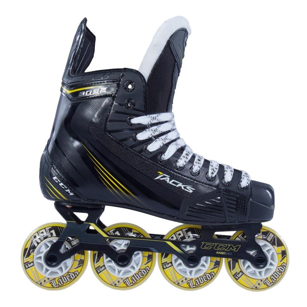 Junior Size CCM Tacks 3R52 Inline Roller Hockey Skates