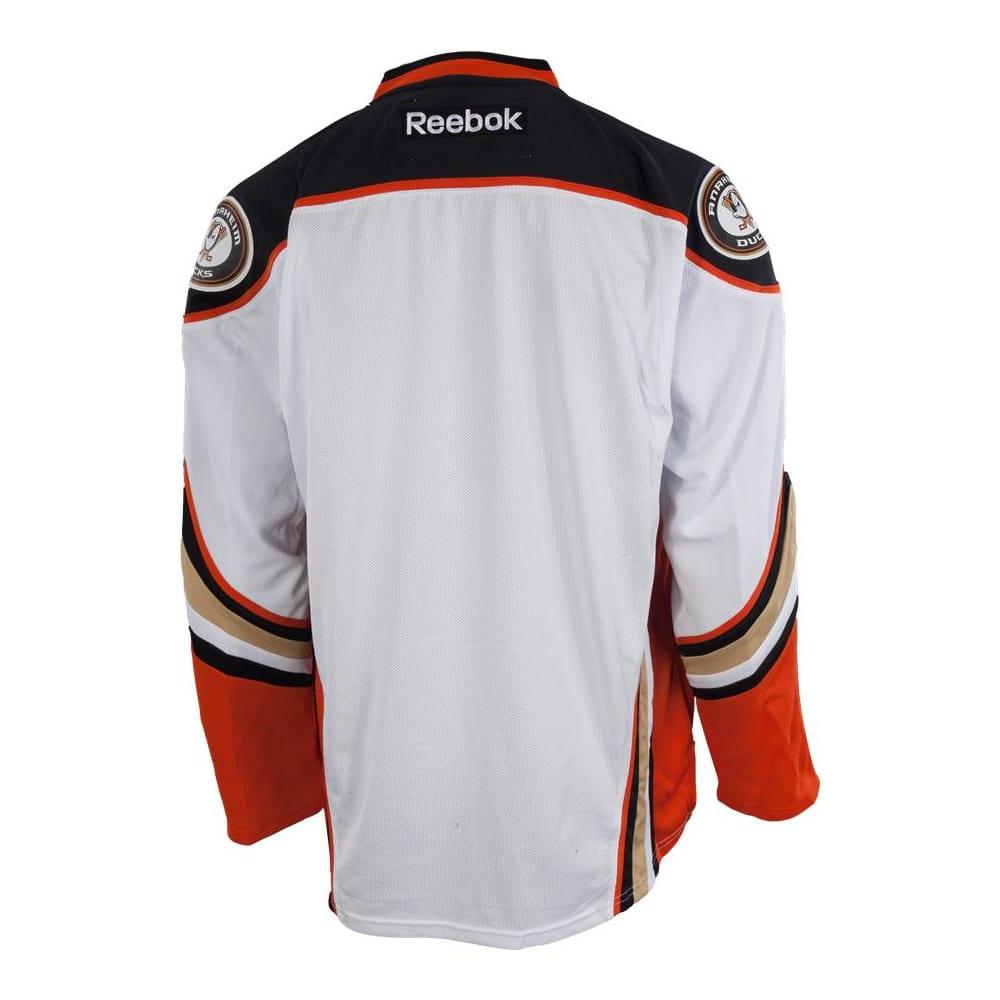 new concept 143b8 78414 Reebok Anaheim Ducks Premier Jersey - Away/White - Adult