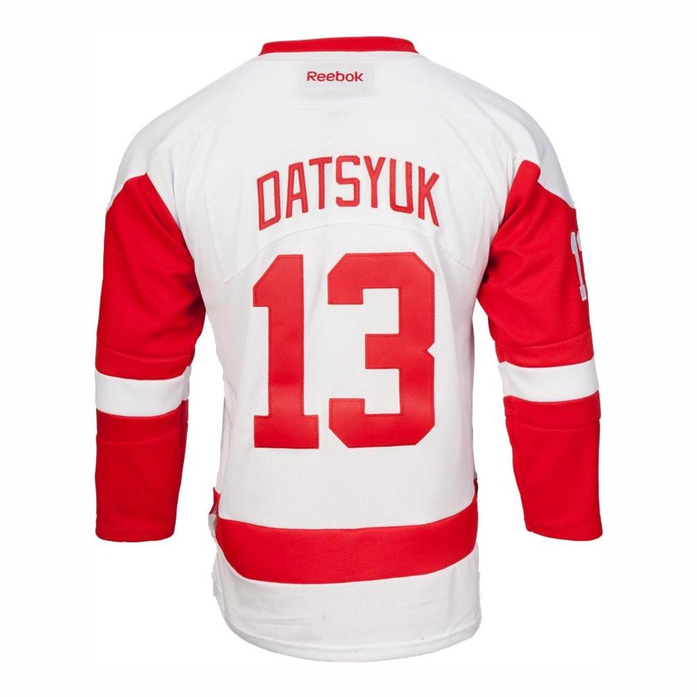 best website 95aad 89258 Reebok Detroit Red Wings Pavel Datsyuk Premier Jersey - Away/White - Youth