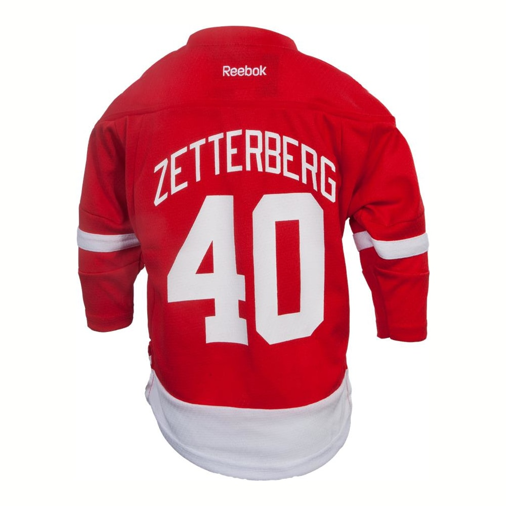 the latest 06712 c3ed0 Reebok Henrik Zetterberg Detroit Red Wings Replica Home Jersey - Toddler