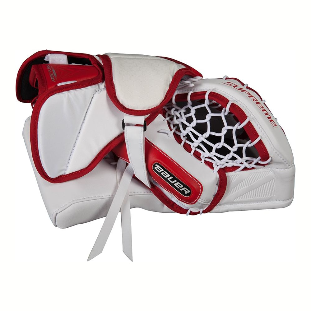 Bauer Supreme S190 Goalie Catch Glove - Intermediate | Pure