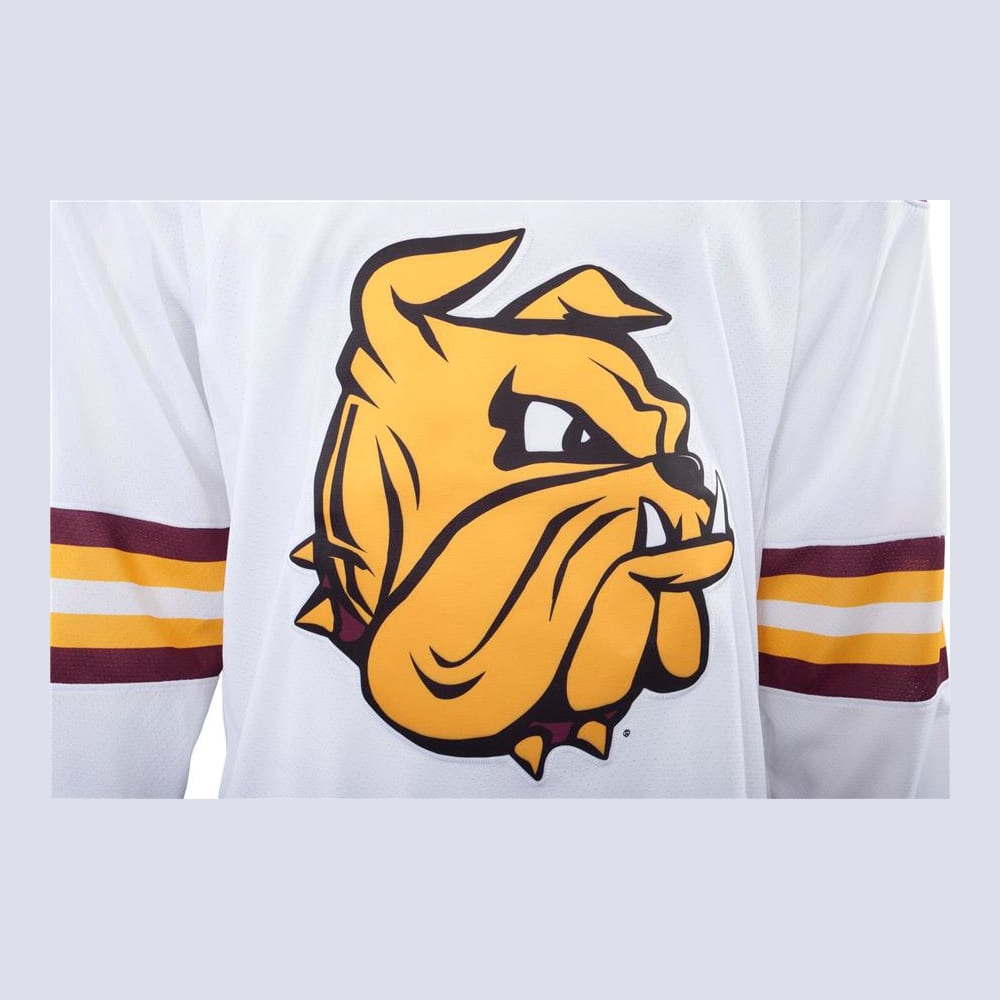 huge selection of 3c2be 54e95 Under Armour Minnesota-Duluth Bulldogs Jersey - Away/White ...