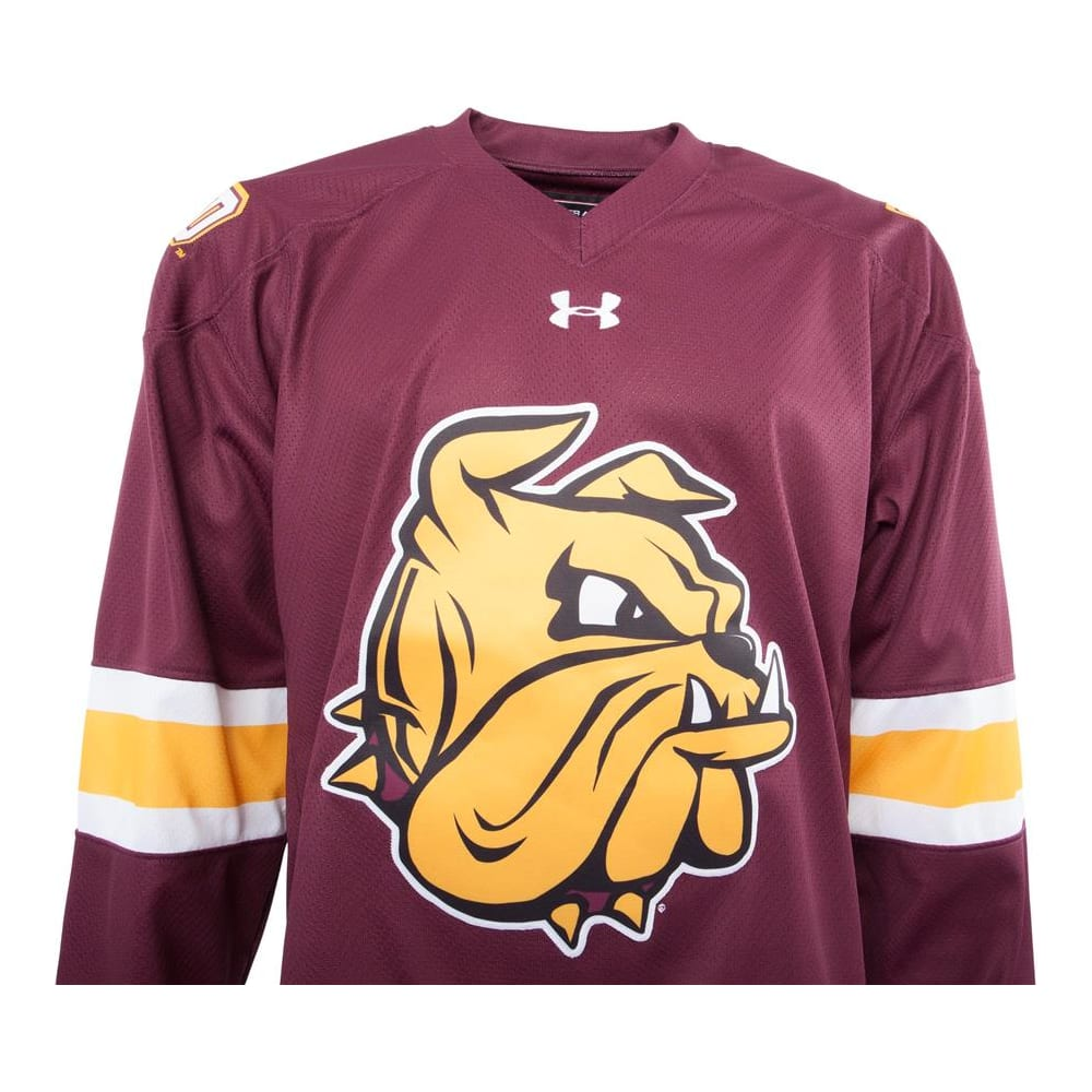 newest 53e5a 56149 Under Armour Minnesota-Duluth Bulldogs Jersey - Home/Dark ...