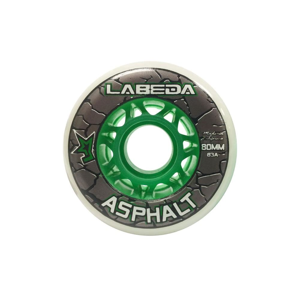 76mm Labeda Asphalt Outdoor Inline Hockey Wheels