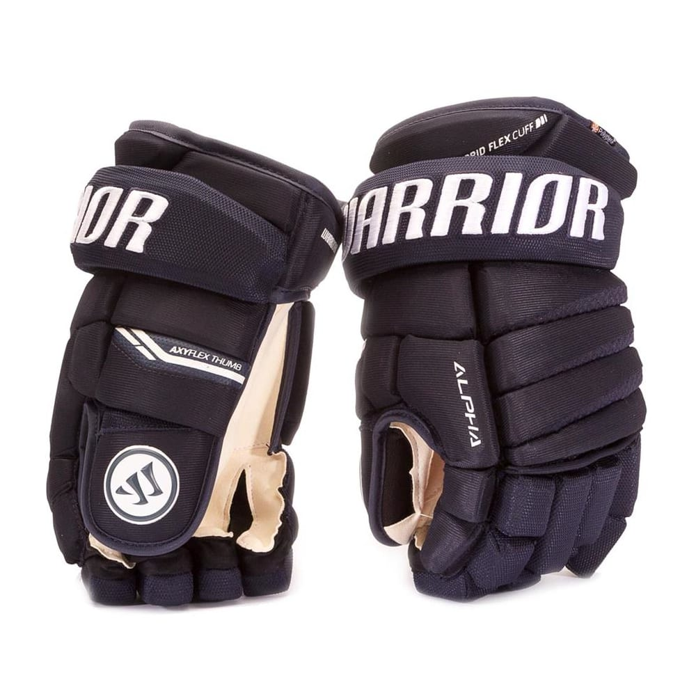 28ab05466ce Warrior Alpha Pro Hockey Gloves - Senior | Pure Hockey Equipment