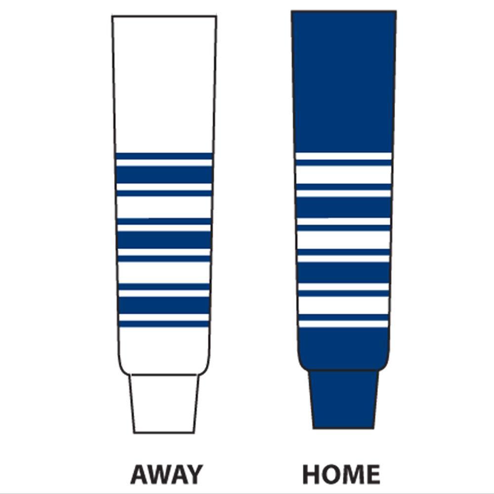 DoGree Hockey Chicago Blackhawks Knit Hockey Socks Junior//24-Inch Black//Red//White