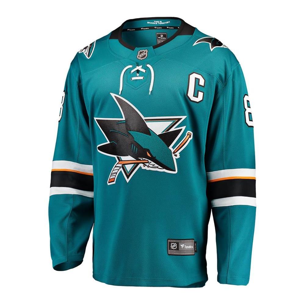 new styles 84bf9 66e45 Fanatics Sharks Replica Jersey - Joe Pavelski - Adult