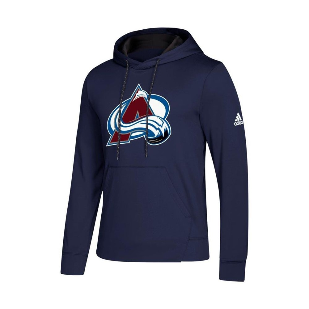 factory price d2cf5 5953d Adidas NHL Performance Hoodie - Colorado Avalanche - Mens
