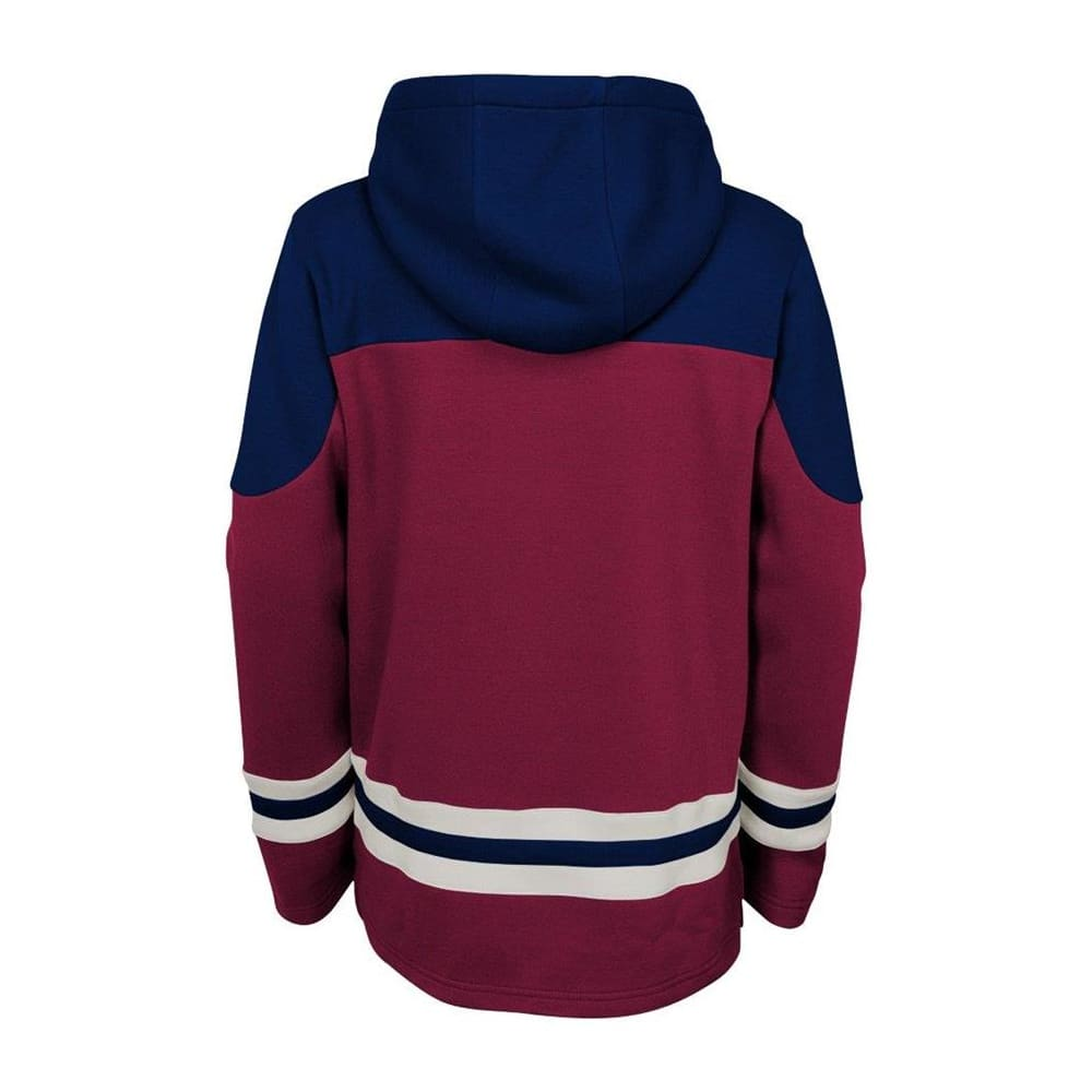 innovative design 8781e 72bf6 Adidas Colorado Avalanche Asset Pullover Hoodie - Youth