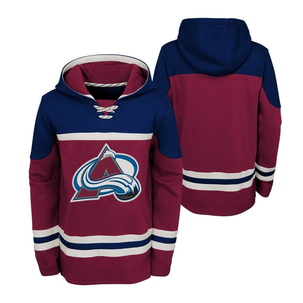 innovative design f6bbe 78010 Adidas Colorado Avalanche Asset Pullover Hoodie - Youth