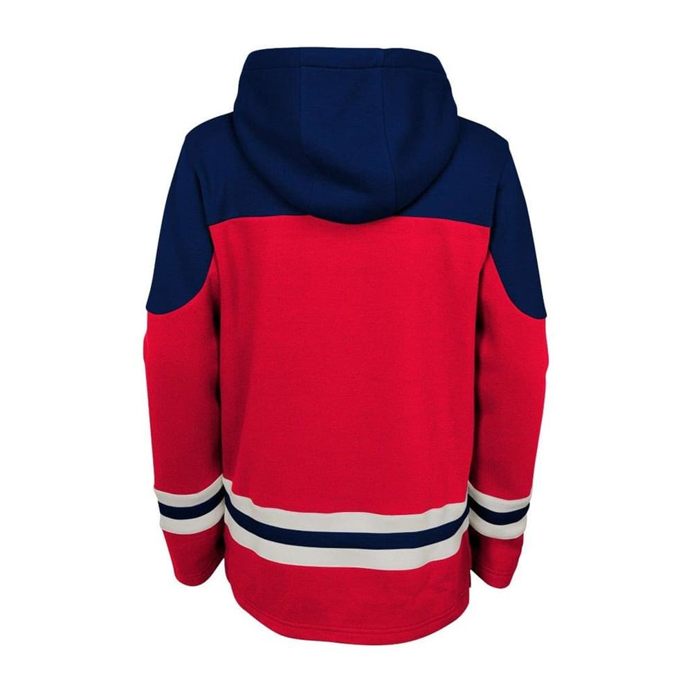276a98b8 Adidas Washington Capitals Asset Pullover Hoodie - Youth | Pure ...