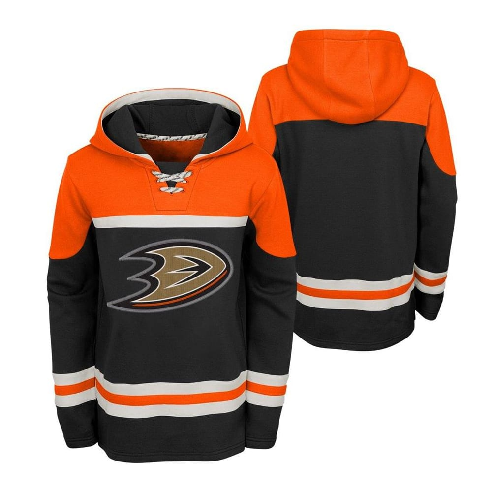 huge selection of 072e7 a1223 Adidas Anaheim Ducks Asset Pullover Hoodie - Youth