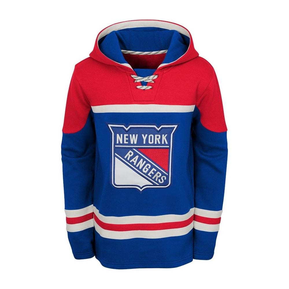 best website a15dd a74be Adidas New York Rangers Asset Pullover Hoodie - Youth