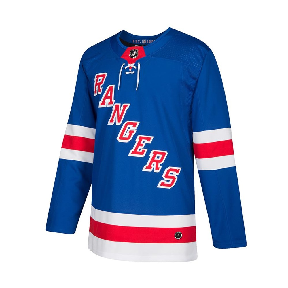 competitive price ea53e 6ba29 Adidas New York Rangers Authentic NHL Jersey - Home - Adult