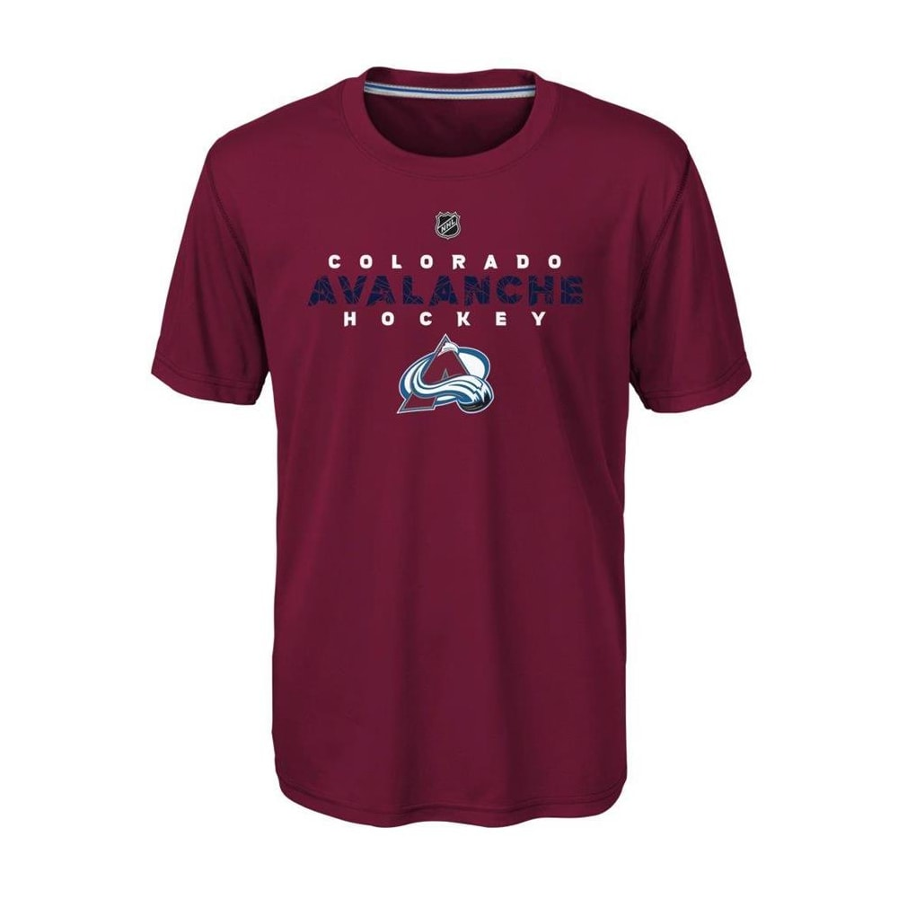 timeless design 38ffd c8ac9 Adidas Colorado Avalanche Avalanche Short Sleeve Tee Shirt - Youth