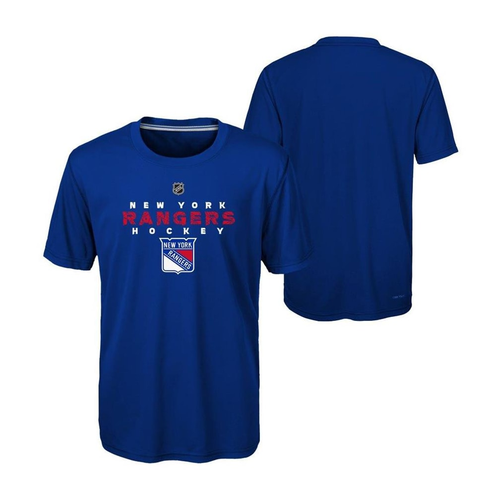 quality design 47a84 839d9 Adidas New York Rangers Avalanche Short Sleeve Tee Shirt - Youth
