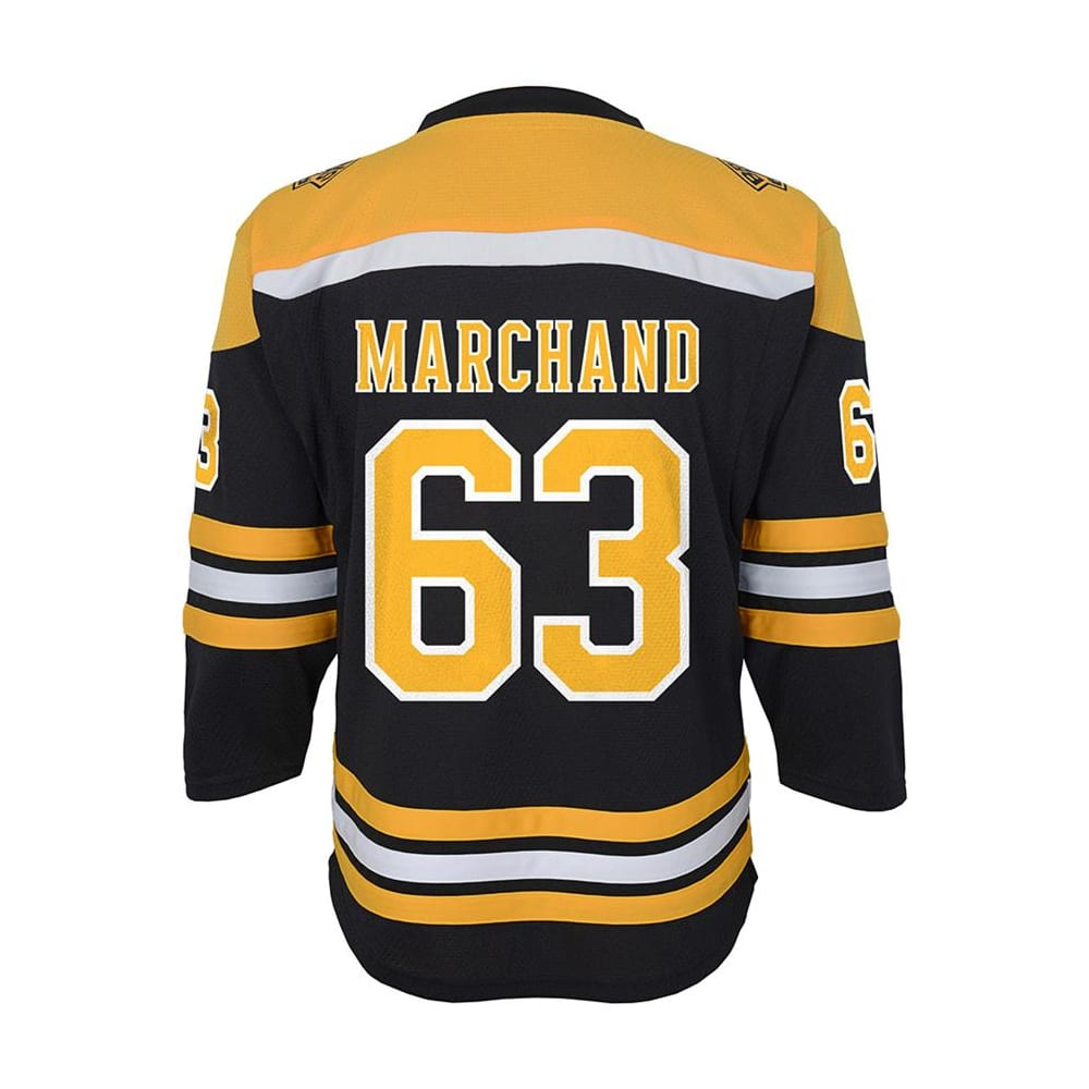 sneakers for cheap eabd8 438a8 Adidas Boston Bruins Marchand Jersey - Youth