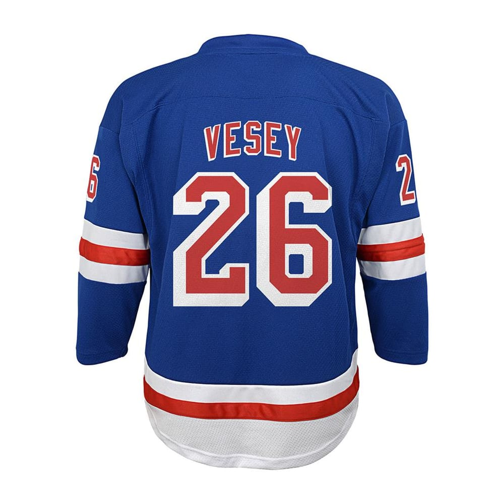 the latest a43de 2b330 Adidas New York Rangers Vesey Jersey - Youth