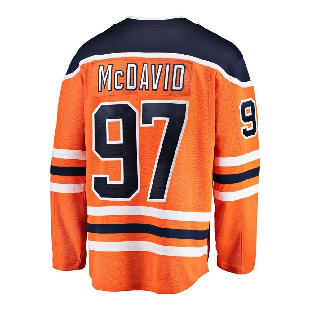 sale retailer 64d1b 80ba0 Fanatics Edmonton Oilers Replica Home Jersey - Connor McDavid - Adult