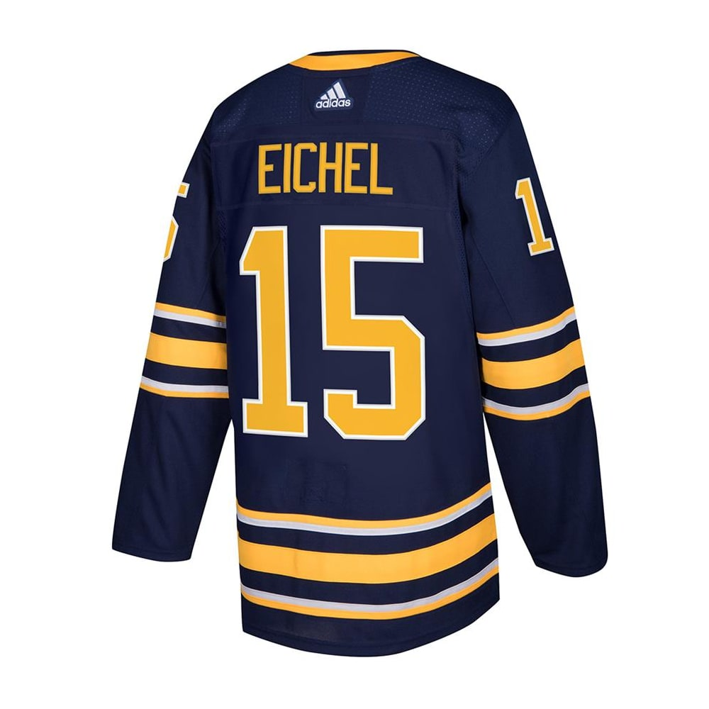 new style d8252 2f7e4 Adidas Buffalo Sabres Jack Eichel Authentic NHL Jersey - Home - Adult