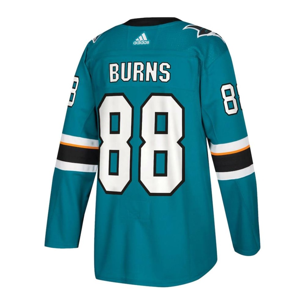 huge selection of 27525 37d86 Adidas Brent Burns San Jose Sharks Authentic NHL Jersey - Home - Adult