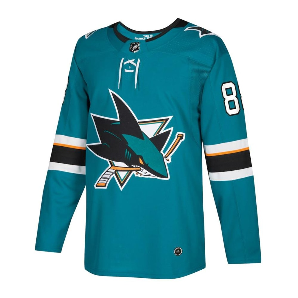 73cf39caa1dd7 Adidas Brent Burns San Jose Sharks Authentic NHL Jersey - Home - Adult