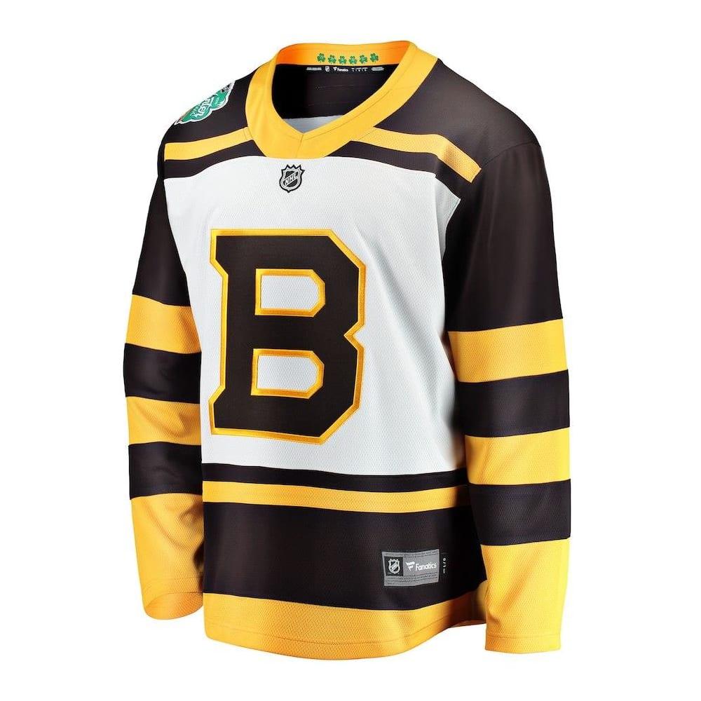 833aeeda Front (Fanatics Boston Bruins 2019 Winter Classic Replica Jersey - Adult)