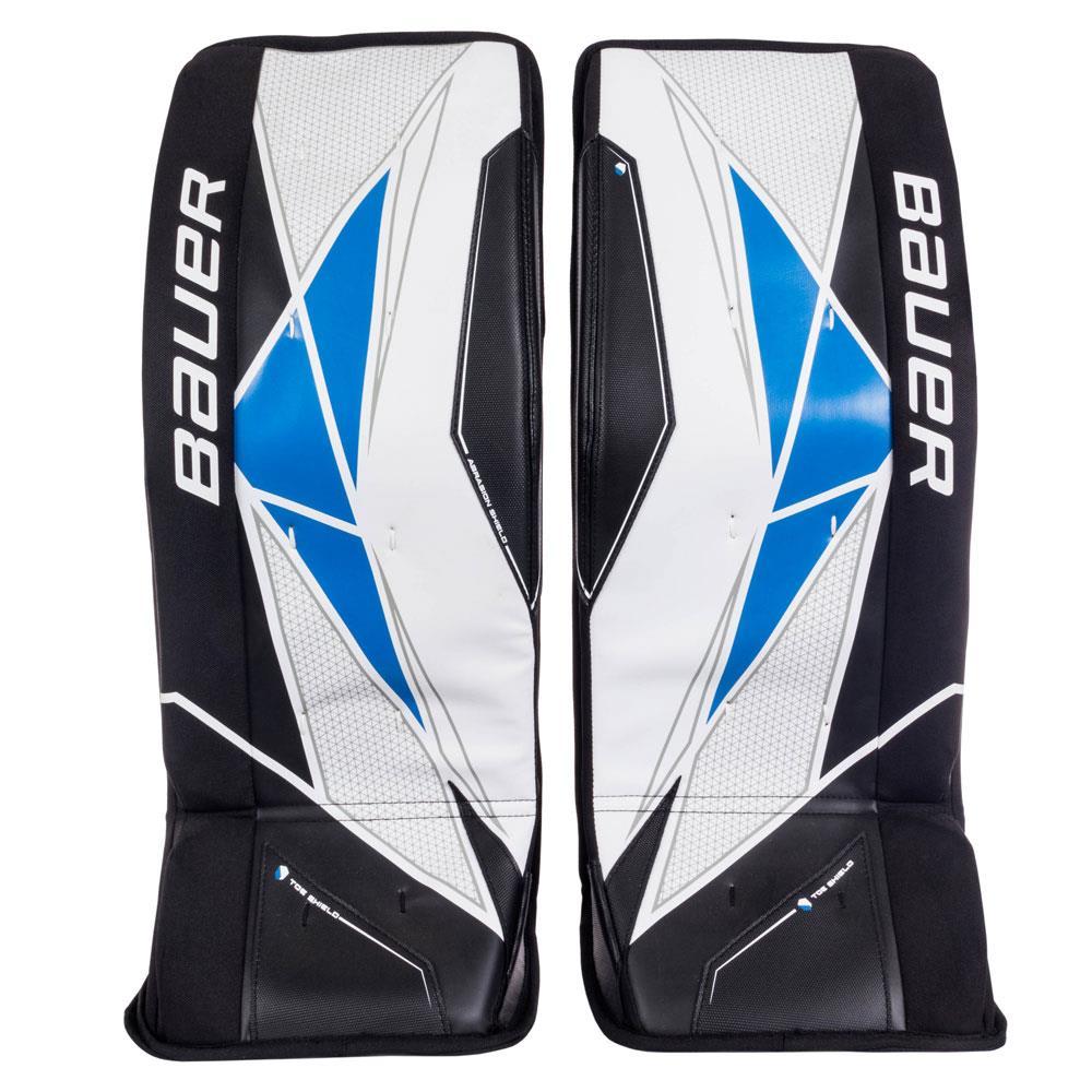 jaloissa Uutuudet iso alennus Bauer Street Hockey Goalie Leg Pads - Junior   Pure Goalie ...