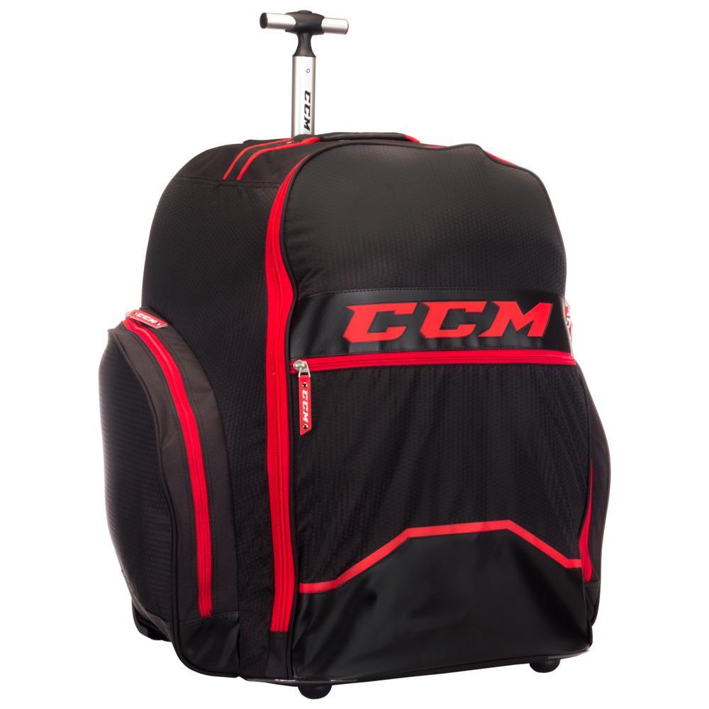 Ccm 390 Player Wheel Backpack Hockey Bag Senior Pure