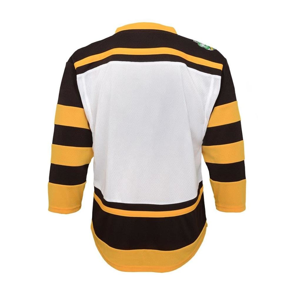 cf134535 Back (Adidas Boston Bruins 2019 Winter Classic Replica Jersey - Youth)